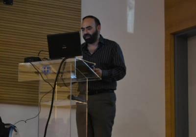 Φωτογραφίες απο την διάλεξη του κ.Παντελή Τσάβαλου