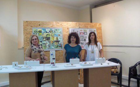 Εγκαίνα εαρινού bazaar Τμήματος Κοσμήματος Εργαστηρίου Τέχνης Χαλκίδας