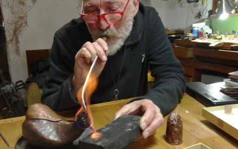 Πειραματικό Εργαστήριου Αρχαίων Ελληνικών Τεχνικών Χρυσοχοϊας & Εργαλείων – Συντονιστής : Άκης Γκούμας 11-15/9/18