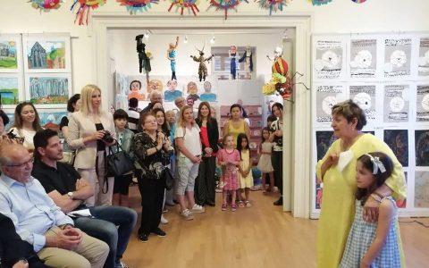 Ετήσια έκθεση παιδικών τμημάτων του Εργαστηρίου Τέχνης Χαλκίδας