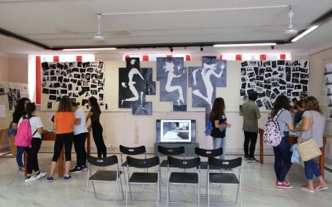 Επίσκεψη μαθητών στην έκθεση φωτογραφίας